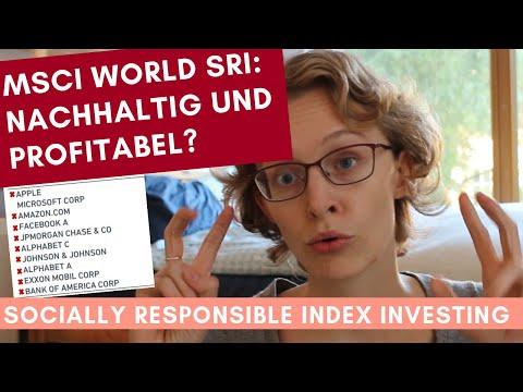 Nachhaltige ETFs: MSCI World in der ethisch sozialverantwortlichen Version?