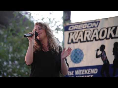 Chelsea Eddy Oregon Karaoke Challenge 2013 The Dalles OR.