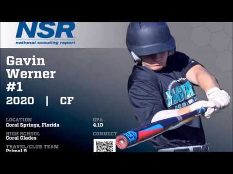 Gavin Werner (2020 MIF/CF) *GAME HIGHLIGHTS* Coral Springs, FL / Primal9 Travel