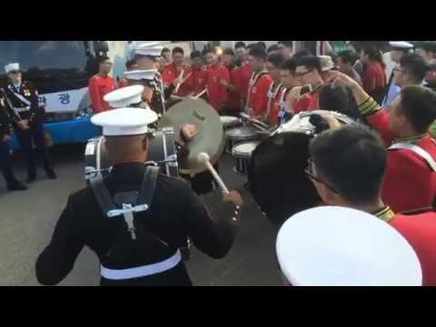 Drum Battle: III Marine Expeditionary Force Band vs. Republic of Korea Army Band