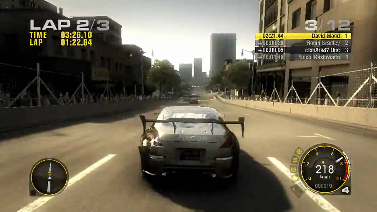 race driver grid gameplay 720p hd pc xbox 360 ps3 youtube