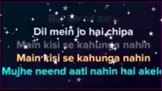 boldo na zara | karaoke with lyrics | clean instrumental