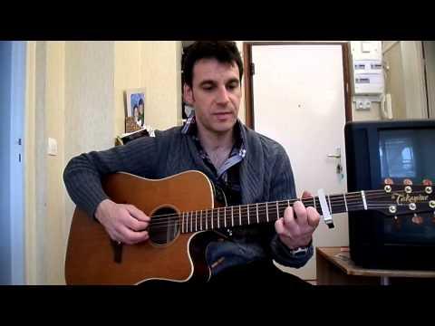 England skies - Shake shake go- how to play  tuto guitare YouTube En Français