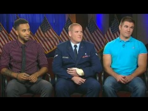 American Heroes Of French Train Attack Reflect On 9/11
