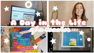 A Day in the Life of a Teacher | Working from Home | Remote Learning | UK Teacher Vlog | Primary