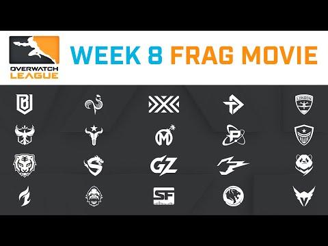 Overwatch League 2020 Week 8 Frag Movie