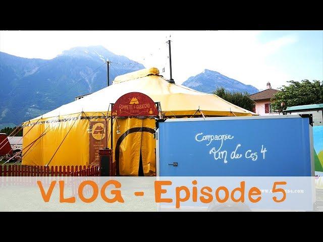 Vlog Notre Vie d'Artiste - Genas et Charrat Festival Herisson sous gazon