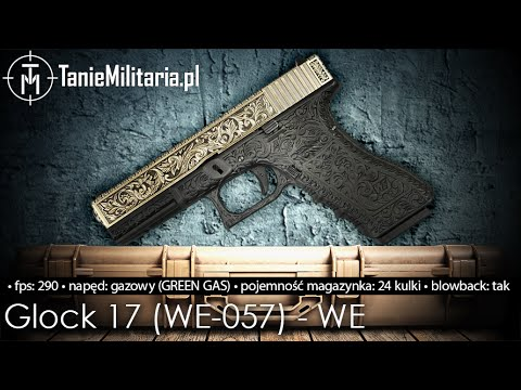 Thumbnail: GLOCK G17 Classic Floral Pattern (WE-057-IV) FIRMY WE - TANIEMILITARIA.PL
