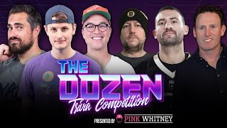 Showdown For #1 Trivia Team At Barstool Sports: Spittin' Chiclets vs. Yak (Ep. 070 of 'The Dozen')
