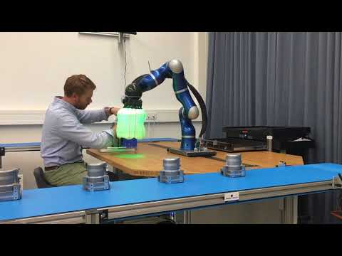 Robot airbags could help industrial bots play nice with humans