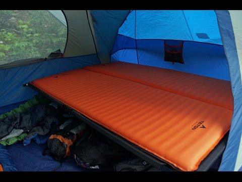 Teton Adventurer Cots And Comfortlite Sleeping Pads Youtube