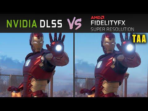 Nvidia DLSS vs AMD FSR (TAA) // Graphics & Performance Comparison