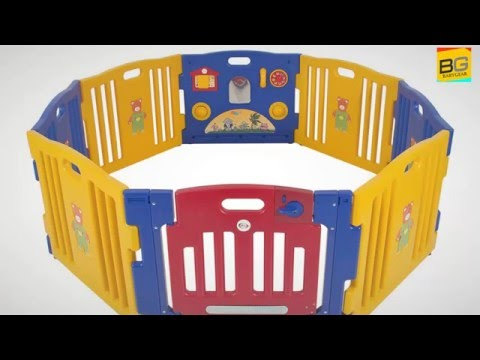 Best Choice Products 8-Panel Indoor Outdoor Home Baby Plaype