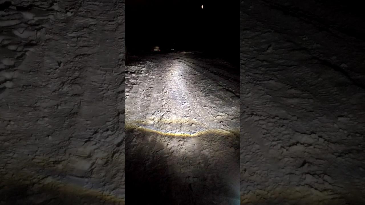 CLEARLIGHT ЛАМПА LED FLEX H11 3000 LM (2 ШТ.) 12-24 В - YouTube