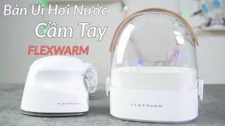 Bàn ủi hơi nước cầm tay FLEXWARM 9903 - Siêu Sang Trọng - Ủi Đứng - Ủi Nằm - Diệt Khuẩn - Hông Khô