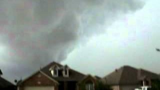 fort worth texas tornado 4 13 2007