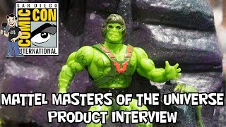 Mattel Masters of the Universe Product Walkthrough at San Diego Comic Con 2018