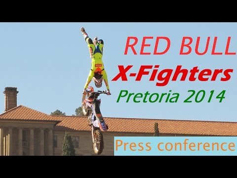 Red Bull X-Fighters Pretoria 2014 Press Conference | Beats Art Media  for Mahala.co.za