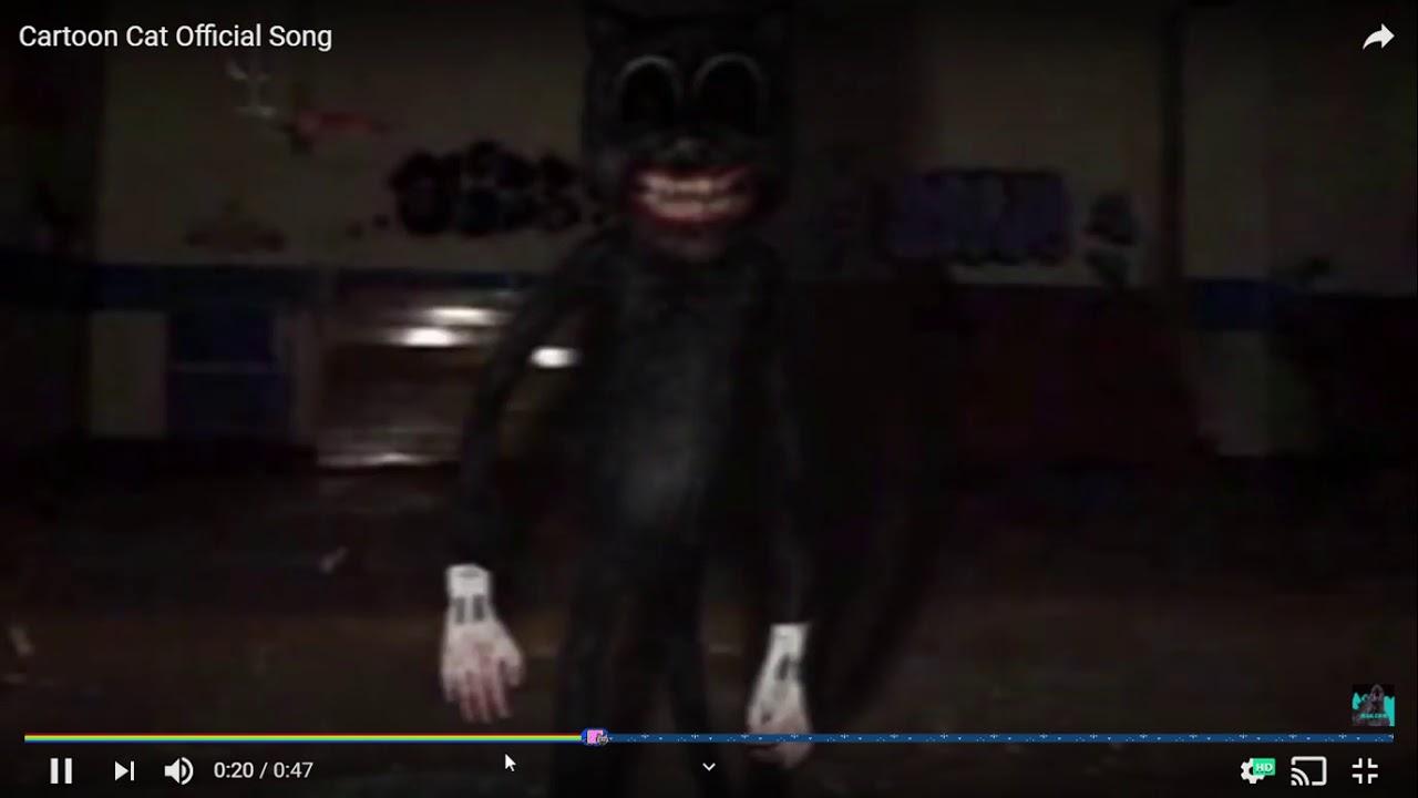 Reaccionando A La Mucica De Cartoon Cat Trevor Henderson Youtube