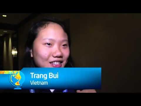 Intel ISEF 2012 Vietnam Pin Exchange   YouTube