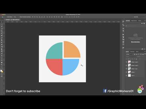 How To Design Pie Charts In Photoshop   Fast And Easy   HD