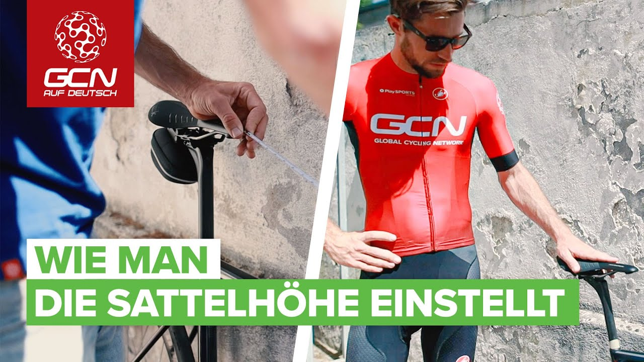 Download Wie man die Sattelhöhe einstellt | Die richtige Rennrad Sitzposition