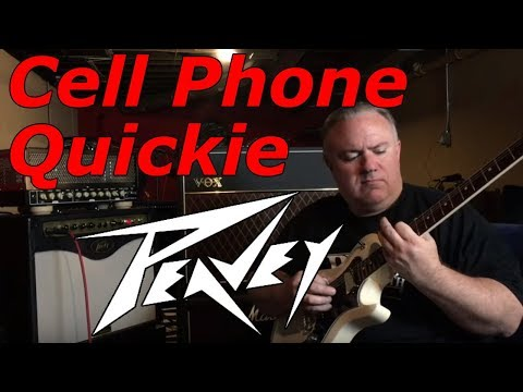 Peavey Windsor Studio Tube Combo Amp - Cell Phone Video Review