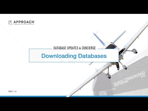 Downloading Databases - Perspective Avionics