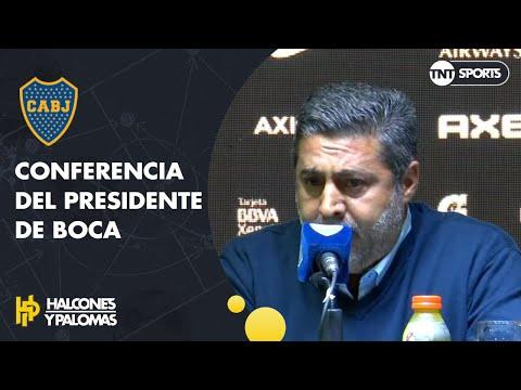 """Daniel Angelici: """"DE ROSSI será jugador de BOCA en un 99%"""""""