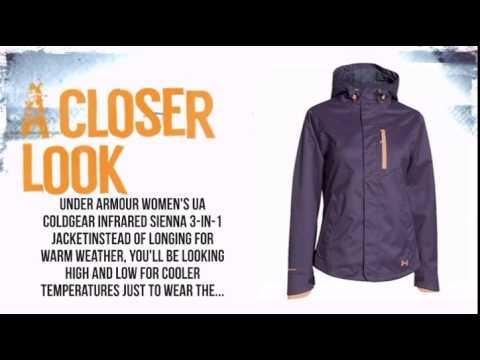 fca19ea3 Under Armour ColdGear Infrared Sienna 3-in-1 Jacket Women's- Twilight  Purple - TheSkiBum.com