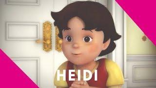 Heidi 🌸 Clara toca la canción de las cabritas