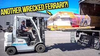 I Bought ANOTHER Wrecked Ferrari To Fix My Fire-Destroyed F355 (FINALLY!)
