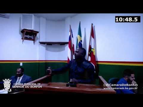 VEJA O RESUMO DA SESSÃO ORDINÁRIA DA CÂMARA MUNICIPAL DE SENHOR DO BONFIM DESTA TERÇA-FEIRA