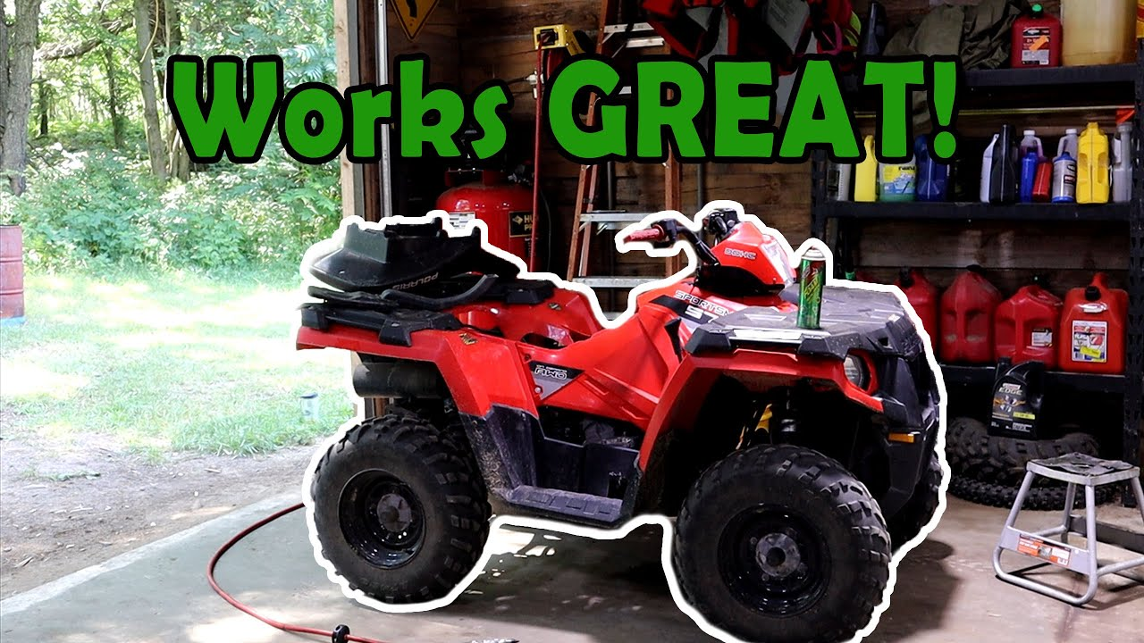 THIS IS HOW I KEEP THE POLARIS SPORTSMAN RUNNING!