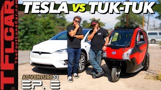 Big vs Little EV — We Compare The Cheapest and Priciest Electric Cars You Can Buy | Adventure X Ep.8