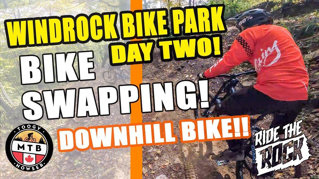5068e4aa508 Windrock Bike Park Downhill MTB // Bike Swapping! Video | Trailforks