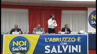 #NoiconSalvini - Intervento di Matteo Salvini a Montesilvano (PE)
