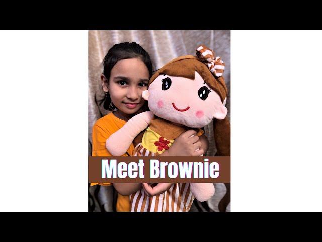 Meet Brownie  / #learnwithpari
