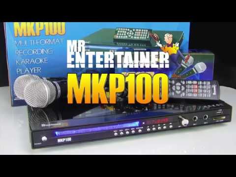 Mr Entertainer MKP100 Karaoke Player Promo Video