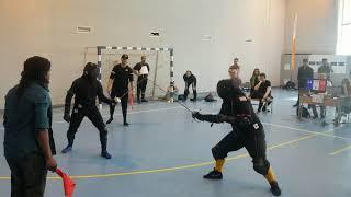 Gibadulin v. Cupp Rapier Elims Round 3 HEMA Minsk 2019