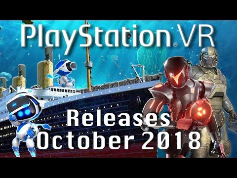 Psvr Releases October 2018 15 New Playstation Vr Games Youtube