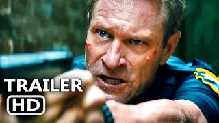 LINE OF DUTY Official Trailer (2019) Aaron Eckhart, Action Movie HD