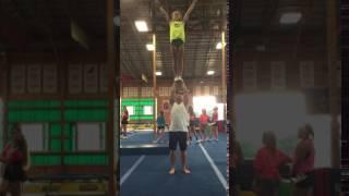 Messin' around with some coed stunts @WW | Dayton Witouski