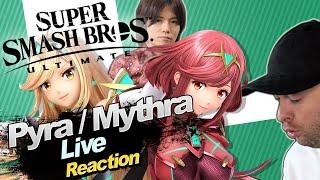 🔴 PYRA/MYTHRA GAMEPLAY!🎇 SUPER SMASH BROS. ULTIMATE DIRECT 04.03.2021 🎇 Domtendos Live Reaktion