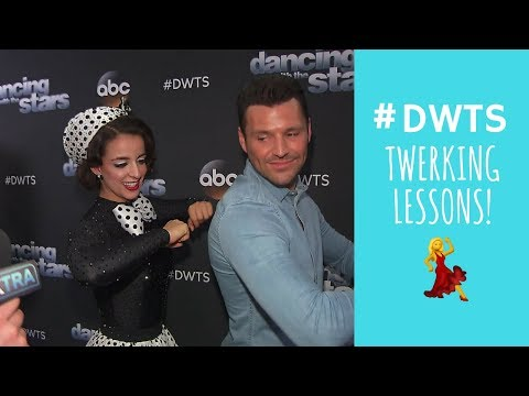 'Dancing with the Stars': Victoria Arlen Shows Mark Wright How to Twerk!