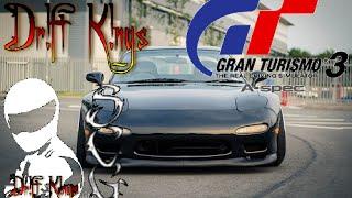 [Gran Turismo 3] RX-7 Drifting [Deep Forest Raceway]