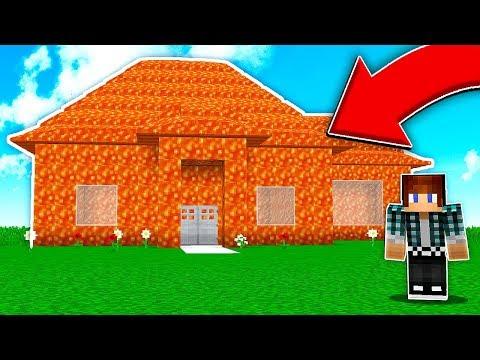 O HEROBRINE FEZ UMA CASA DE LAVA !! - Minecraft Herobrine