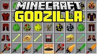 GODZILLA MINECRAFT MOD | Fight Godzilla, King Kong, Mothra | Minecraft Mods