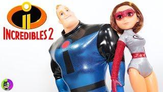"Incredibles 2 | ""MR. INCREDIBLE and ELASTIGIRL"" 2 Pack Figure Review"