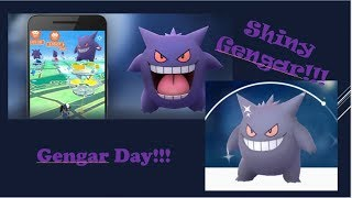 GENGAR DAY RAID GUIDE POKEMON GO!! SHINY GENGAR PLUS EXCLUSIVE MOVESET, BETTER THAN LEGACY MOVES??